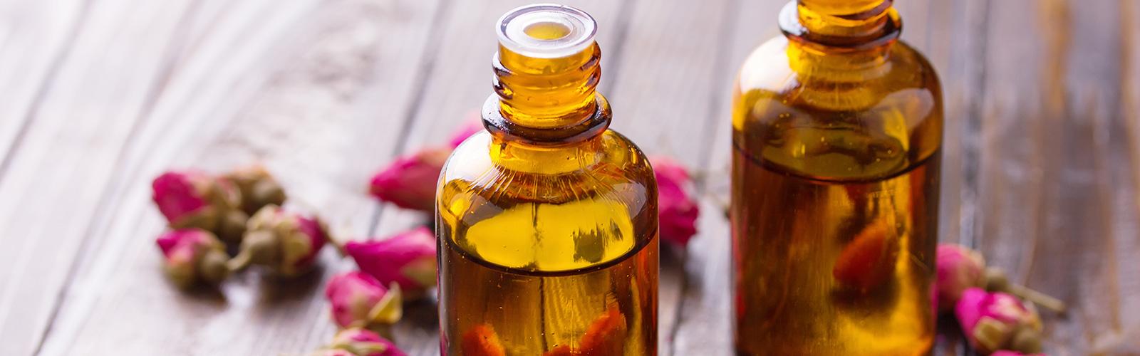 Massagem com óleos essenciais